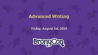 Advanced Writing