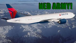 Ned Prank Call - Delta Airlines (The Bubba the Love Sponge Show)