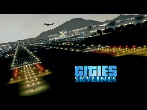 Cities Skylines :: Isla Bonita 06 :: INTERNATIONAL AIRPORT