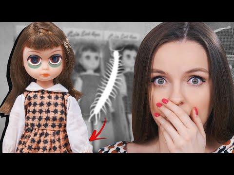 Насекомое в кукле 1960 года😰Винтажная Susie Sad Eyes, история, обзор, распаковка