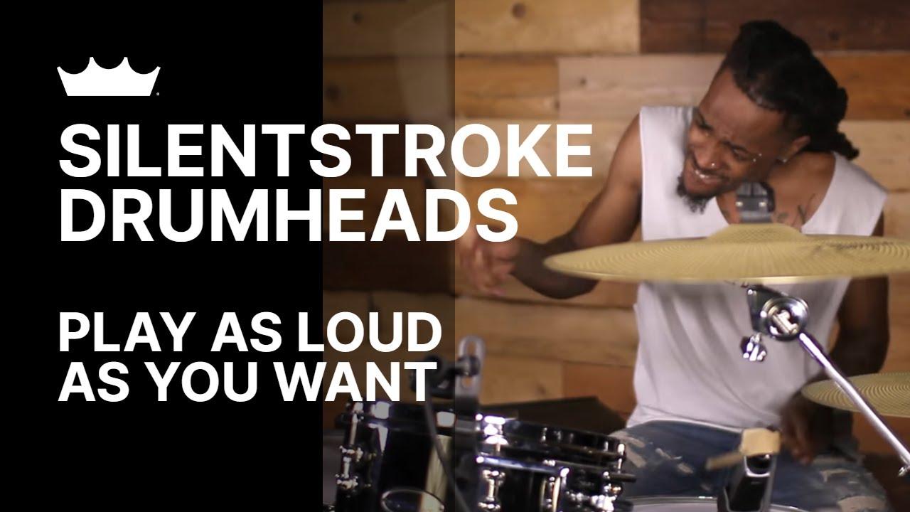 "Remo Silent Stroke Gewebefell 12/"" Tom SN-0012-00"