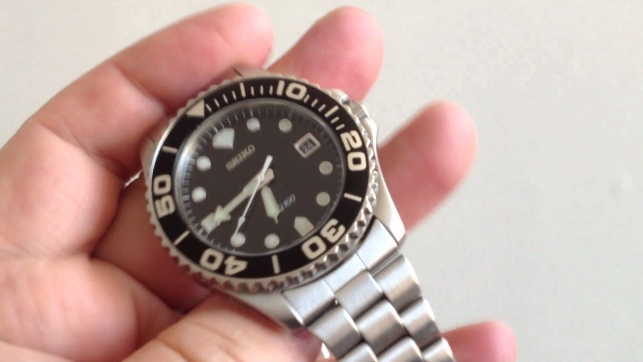how to remove the crown from a seiko quartz watch