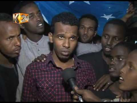 Celebrations in Eastleigh after former PM Mohamed Farmajo is elected as new president