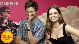 MYXclusive Interview With ANSEL ELGORT, LILY JAMES And EDGAR WRIGHT For