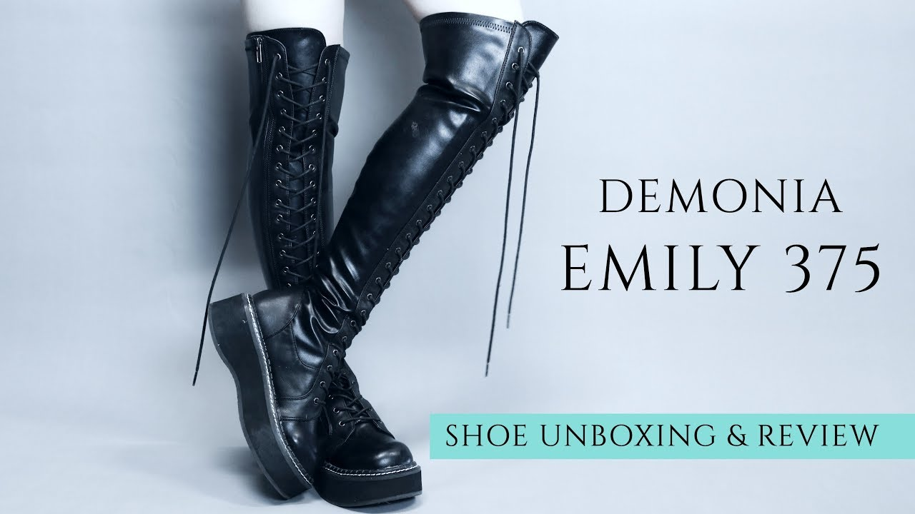 Demonia EMILY 375 Over-The-Knee Boots