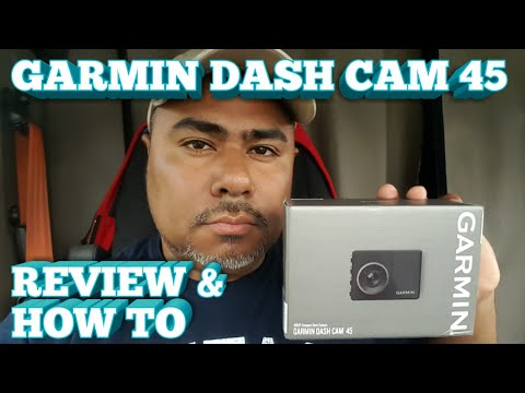 Truck Driving - Garmin Dash Cam 45 • REVIEW •