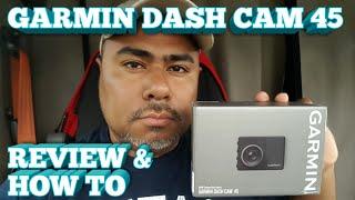 Truck Driving - Garmin Dash Cam 45 • REVIEW •