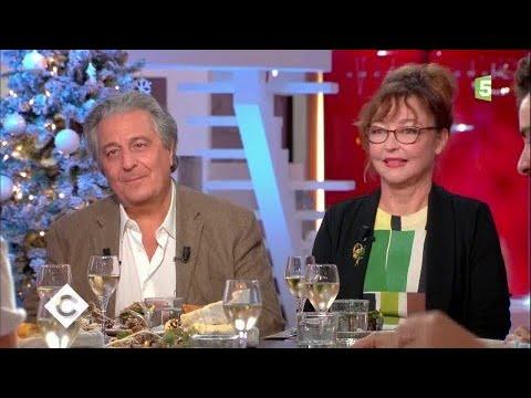Catherine Frot et Christian Clavier au dîner - C à Vous - 22/12/2017