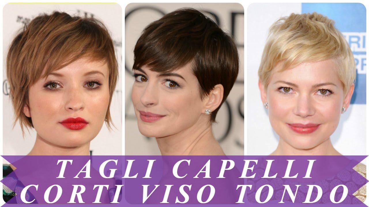Taglio capelli corti donne viso tondo