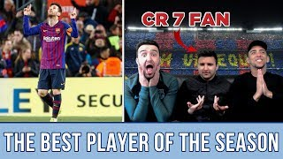 CR7 Fan reacts to: This is why Lionel Messi is the best player the season 2018/19 | REACTION