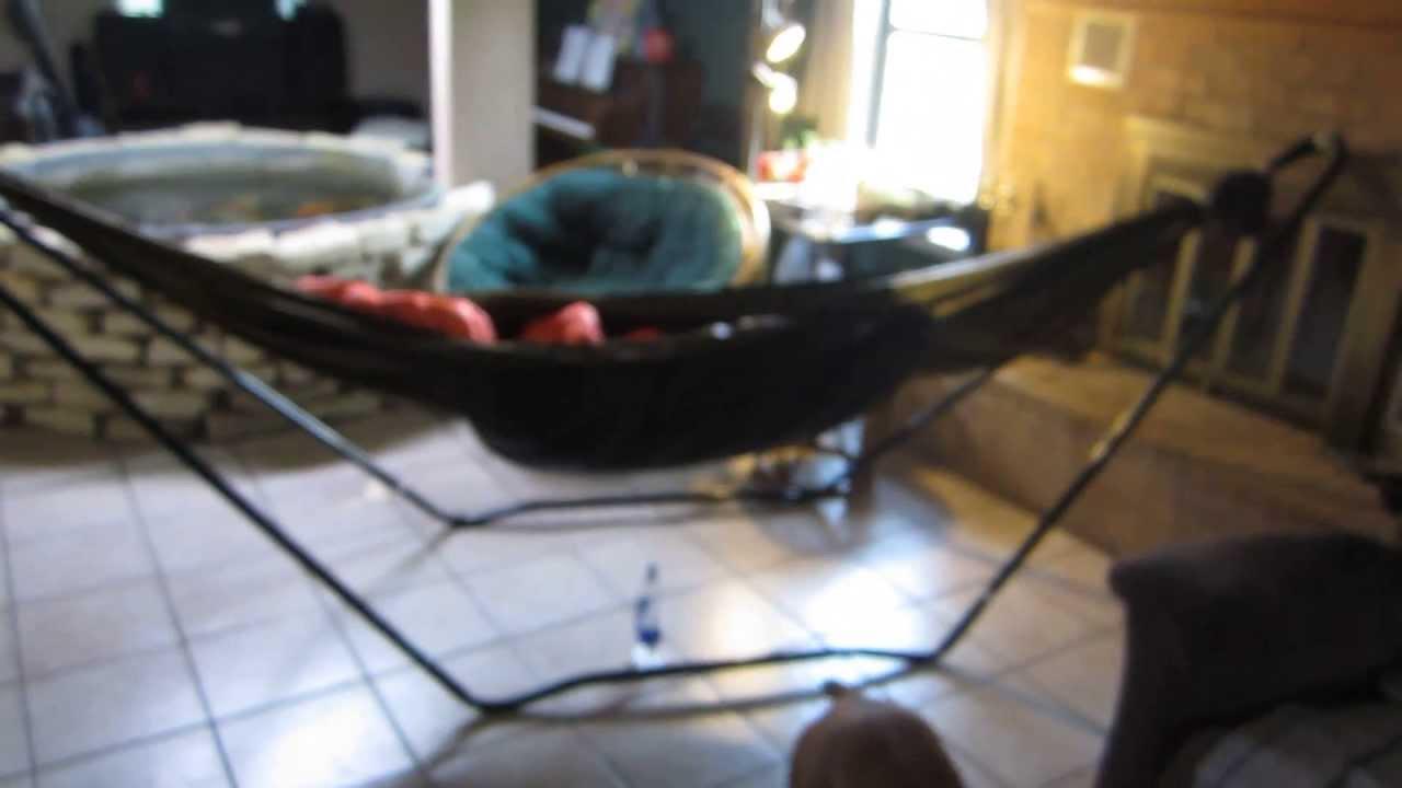 texsport hammock stand   youtube  rh   youtube