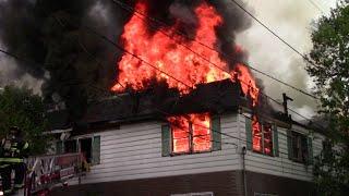 Belleville, Nj Fire Department 3rd Alarm Fire (Cortland St)