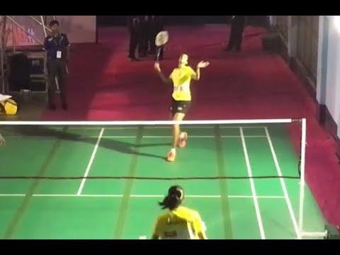 PV Sindhu Vs Saina Nehwal | Badminton | Commonwealth Games 2018 | Practice Session