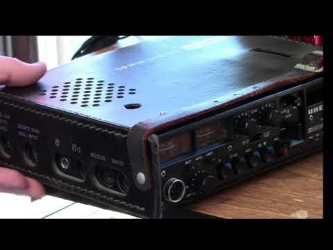 Uher CR 240 Stereo Cassette Tape Recorder, c. 1977