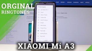 How to Change Ringtone in XIAOMI Mi A3 - XIAOMI Ringtones List