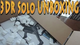 Unboxing: 3dr solo with gimbal 3d robotics drone!!! (11.09.2015)