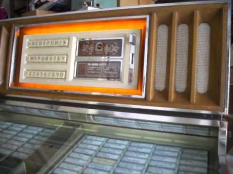 Front Door Replacement >> Very nice Rowe MM5 jukebox. - YouTube