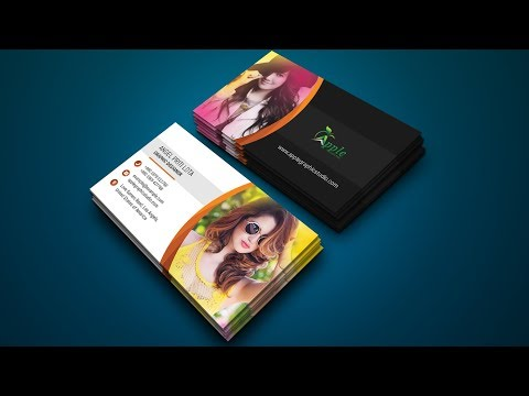 Stylish Photography Business Card Design Tutorial in Photoshop