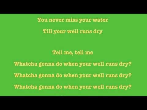 Peter Tosh - Till your Well Runs Dry (Lyrics)