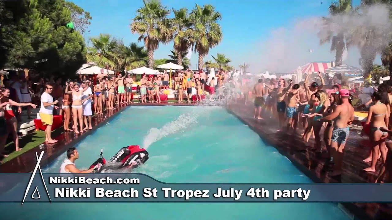 Nikki Beach St Tropez July 4th Party 2017