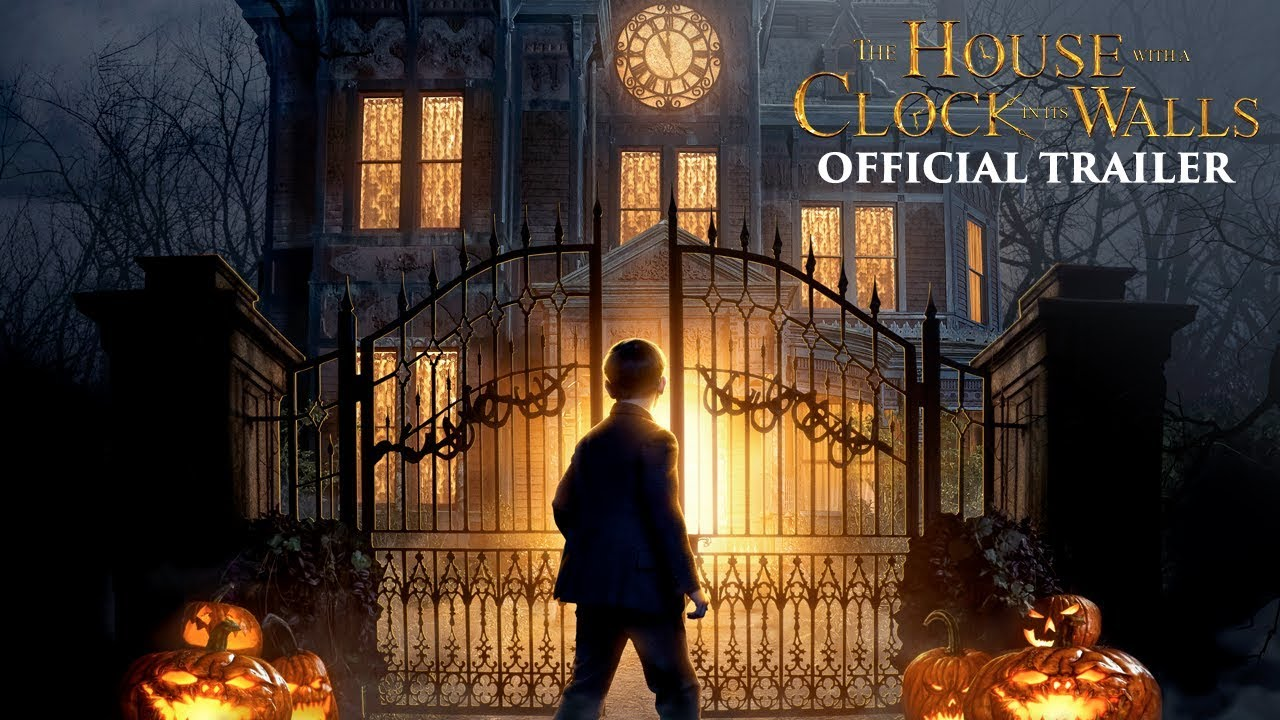 the house with a clock in its walls official trailer 1 youtube