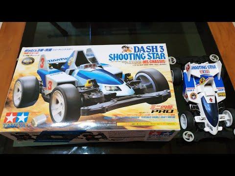 Unboxing Tamiya Dash 3 Shooting Star dan Hasil Rakitan Tamiya
