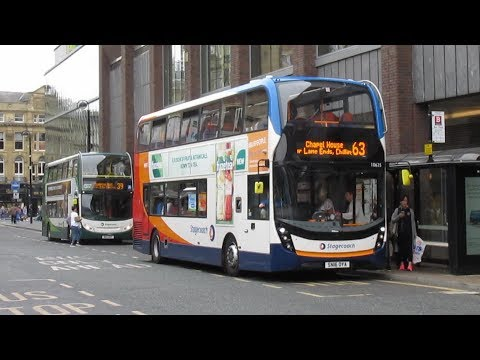 Buses Trains & Metro at Newcastle Upon Tyne July 2018