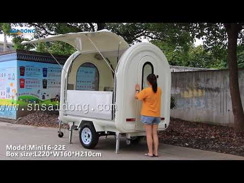 Towable food trailer for sale Mobile food concession trailer for sale