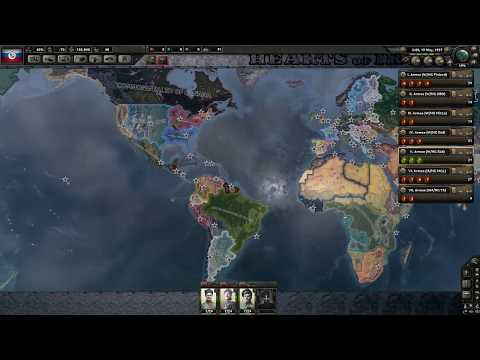 Magyar Let's Play Hearts of Iron 4 Kaiserreich - Oroszország - 2. Rész