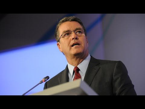 WTO Director-General Roberto Azevêdo speaks at The National Press Club