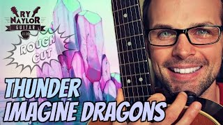 Thunder Imagine Dragons Guitar Lesson - Easy, Beginner Chords and Strumming Pattern