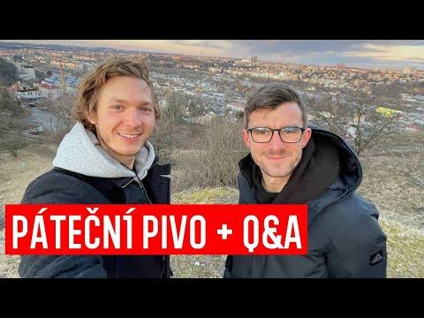 Kluci z Prahy - Q&A + Páteční pivko