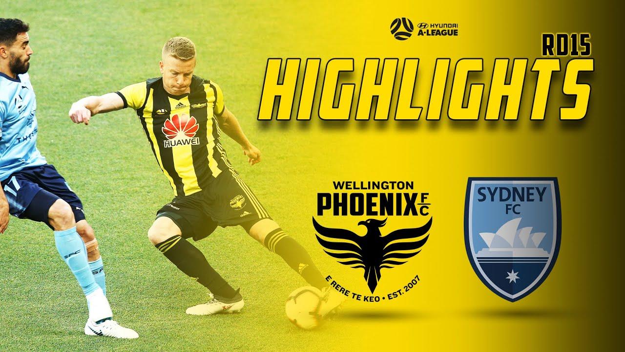 Full Time Highlights Wellington Phoenix Vs Sydney Fc Youtube