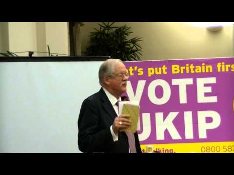 Roger Helmer's ST Georges day Speech in Seaford