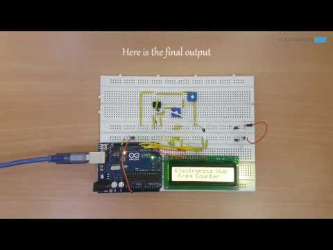 Frequency Counter Using Arduino - YouTube