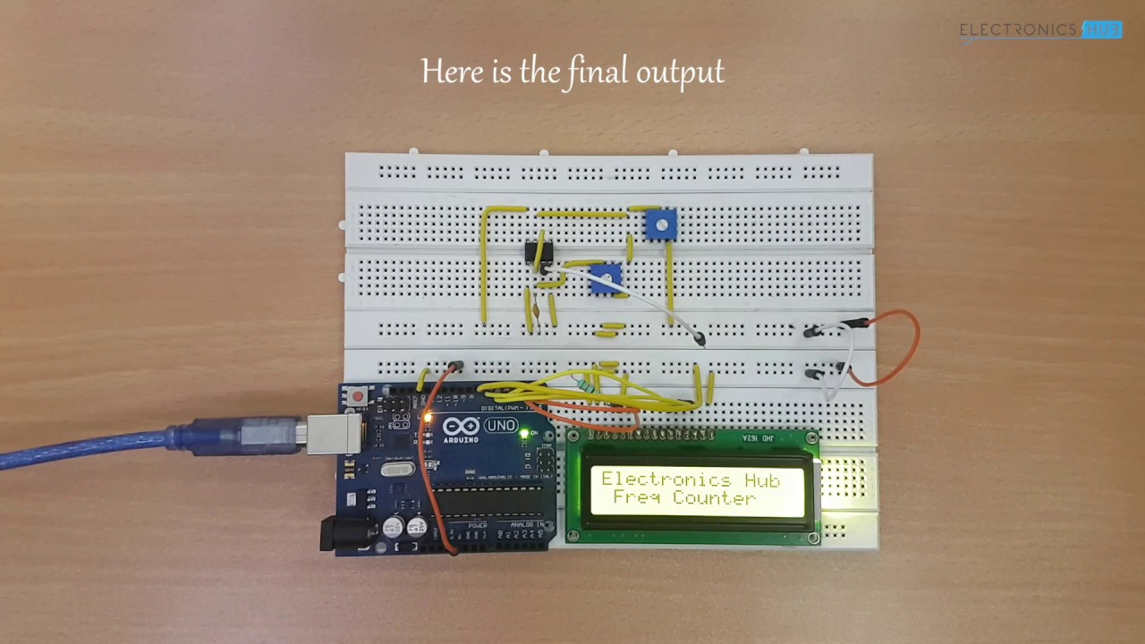 Frequency counter using arduino youtube
