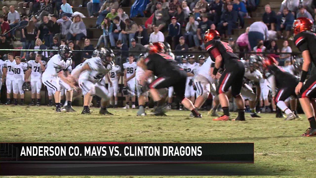 High School Football Highlights Anderson County At Clinton 9 25
