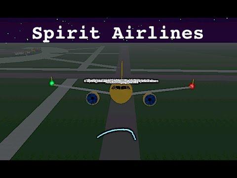 ROBLOX   Spirit Airlines A320-NEO Flight #1