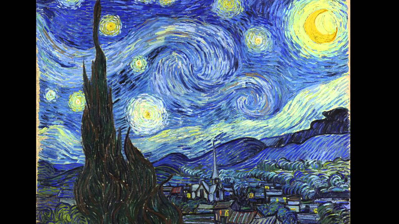 48 vincent van gogh sternennacht 1889 museum of modern art new york usa youtube. Black Bedroom Furniture Sets. Home Design Ideas