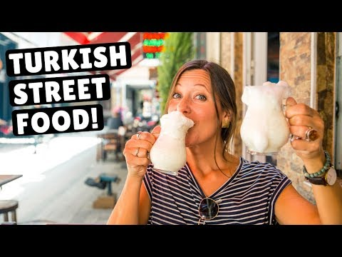 HUGE TURKISH FOOD TOUR IN ISTANBUL | Foodie Heaven!