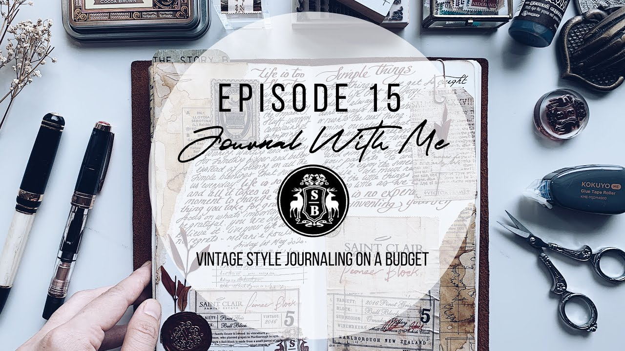 Journal With Me: On A Budget!