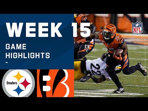 Steelers vs. Bengals Week 15 Highlights | NFL 2020