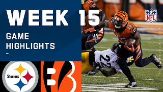 Steelers vs. Bengals Week 15 Highlights | NFL 2020
