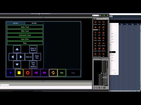 Lemur/Cubase Template Tutorial Video