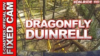 DragonFly - Duinrell | On-Ride (ECam HD)