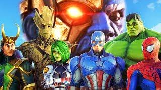 THE AVENGERS ULTIMATE THREAT? - Marvel Strike Force | Pungence