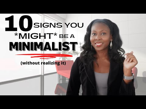10 Signs You *MIGHT* Be a Minimalist (but don't realize it)⎟FRUGAL TIPS⎟Minimalism for Beginner