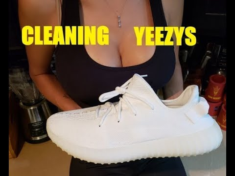How To Clean All White Cream Yeezys The Safe Way!