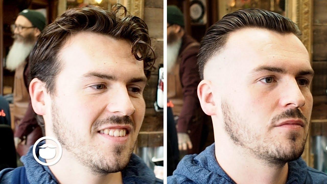 peaky blinders haircut transformation