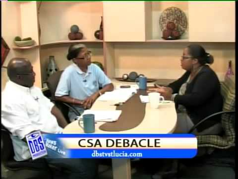 NEWS MAKERLIVE FEATURING MARY ISAAC AND WILFRED PIERRE SAINT LUCIA